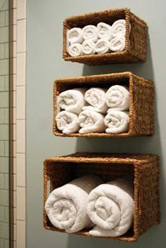 Who makes our bathroom be cluttered? It is always the towels. The towels for all kinds of uses are everywhere that our bathroom looks like a dustbin. Bathroom is a important place in the house, so whether your bathroom is big or small, keeping it well organized is necessary. For this reason, we have gathered […]