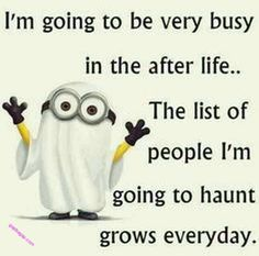 Funny Minion Joke About After Life