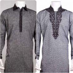 Latest Eden Robe Shalwar Kameez Suits For Men Engagement Dress For Groom, Wedding Dress Men, Gents Kurta Design, Boys Kurta Design, Kurta Pajama Men, Kurta Men, Polo Design, Kurta Patterns, Mens Fashion Wear