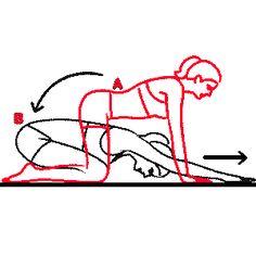 exercice d'étirement dorso-lombaire pour le mal au dos