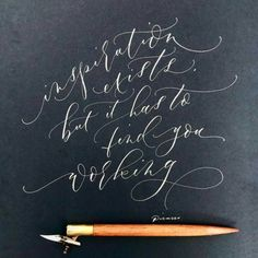 381 Likes, 4 Comments - Angi Phillips Modern Calligraphy Tutorial, Modern Calligraphy Alphabet, Modern Caligraphy, How To Write Calligraphy, Calligraphy Handwriting, Lettering Tutorial, Calligraphy Letters, Typography Letters, Penmanship