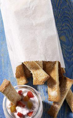 Süße Pommes Rezept - ESSEN & TRINKEN