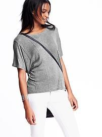 a38bbd5b4e23f Seamed Drapey Tee Discount Womens Clothing, Womens Clearance, Top Sales,  Maternity Wear,