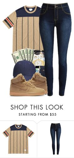 """""""Cause i'm that b**tch that's why!"""" by trilltommie ❤ liked on Polyvore featuring NIKE"""