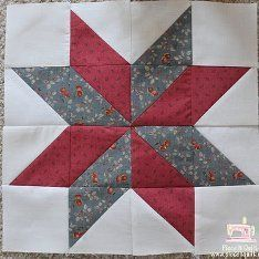33 Star Quilt Patterns: Free Block Designs and Quilt Ideas | FaveQuilts.com