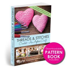 Free Pattern Book when you purchase our 9pc Easy Grip Crochet Hook Set. http://www.amazon.com/Premium-Crochet-Hook-Ergonomic-Handles/dp/B00YW6GG06