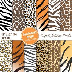 2 M Zebra Tiger Animal Print Ribbon THEME Craft Crafting Scrapbook New