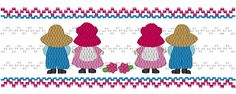 Sunbonnet Twins - Machine Smocking by Elizabeth's Embroideries www.elizabethsembroideries.com