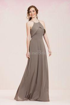 Jasmine Bridal Bridesmaid Dress Jasmine Bridesmaids Style P186055 in Venetian Gold