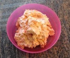Paprika-Feta-Aufstrich Nacho Dip, Dips, Pesto, Nachos, Diy Food, Mozzarella, Guacamole, Mashed Potatoes, Grilling