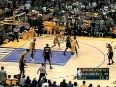 2001 NBA Finals: Sixers at Lakers, Gm 1 part 14/14