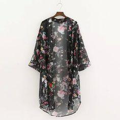 Encontrar Más Blusas y Camisas Información acerca de Verano estilo de la camisa tops blusas de las mujeres impreso Floral camisas casual camisas blusas femininas cardigan kimono de la vendimia más el tamaño, alta calidad descuentos camiseta, China partes camisa Proveedores, barato camisa calvin de Best-Offer en Aliexpress.com
