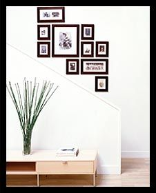 Easy picture wall gallery
