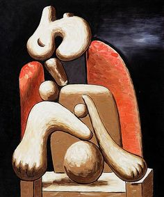 Woman in Red Armchair, Pablo Picasso