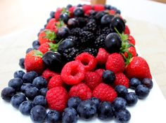 #healthy #berries #snack. My idea of a #dessert. For healthy recipes visit www.hayfaglam.com and www.facebook.com/hayfaglam #food #superfoods #fruits #colours