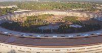 Apple Park sempre più simile ad un vero e proprio parco. Ecco i progressi in un video