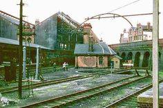 nottinghamrobert_bridger9.1966victoria_old14 Nottingham Station, Nottingham City Centre, Disused Stations, Steam Railway, Derbyshire, Train Station, Scene, Victoria, Urban