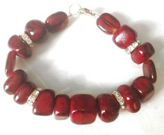 Treat yourself or Give as a gift.  https://www.etsy.com/listing/158529846/great-gift-unique-rich-red-banged-agate