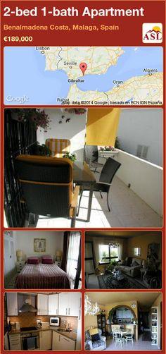 2-bed 1-bath Apartment in Benalmadena Costa, Malaga, Spain ►€189,000 #PropertyForSaleInSpain