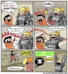 Fallout 4 Fun Comic http://geekxgirls.com/article.php?ID=6739