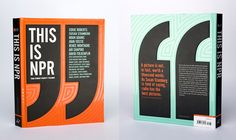 """""""This is NPR"""" Nice book design. Also, interesting Q&A with Design Army."""