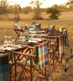 Safari Lodges Sabi Sand Game Reserve, South Africa Can Necklaces Mean a Pain in the Neck? Tanzania, Sand Game, Safari Wedding, Vintage Safari, Outdoor Dining, Outdoor Decor, Outdoor Patios, Outdoor Events, Outdoor Rooms