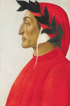 Painting Art Print by Sandro Botticelli, see the Picture Painting of Dante Alighieri and choose your favorite picture frame. Dante Alighieri, Sandro Botticelli Paintings, The Hierophant, High Renaissance, Renaissance Paintings, Italian Painters, Classic Paintings, Michelangelo, Les Oeuvres