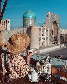 Interested in visiting Uzbekistan? Check out our detailed itinerary and guide to make the most of your trip to Uzbekistan! Islamic Architecture, Art And Architecture, Georgetown Guyana, Places In Switzerland, History Of Islam, Gap Year, Central Asia, Holiday Destinations, Islamic Art