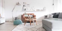 Living room make-over in only one day! more on Live love interior