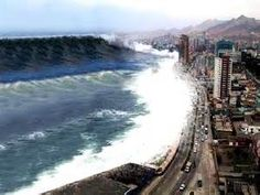 Tsunamis Waves Tidal wave hitting thailand -