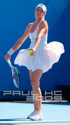 Maria Kirilenko In Australian Open 2008.