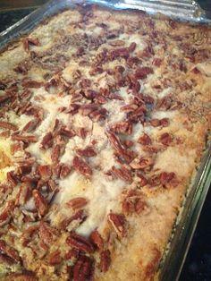Pumpkin Pie Cake - baked