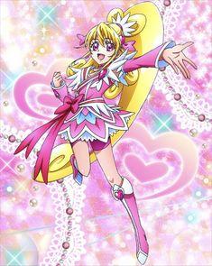 Glitter Nail Tips Refferal: 5882772579 Futari Wa Pretty Cure, Cute Kawaii Drawings, Glitter Force, Glitter Hearts, Magical Girl, Manga, Kawaii Anime, Cute Girls, Chibi