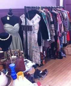 The Antique and Vintage Shop at Oundle Vintage Fair on 12th May 2013 - photo by Lost Property Vintage