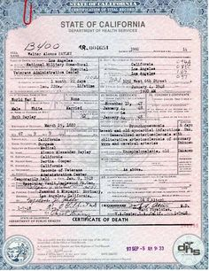 Online Death Indexes from all States Online Search Death Certificates / Records by States Free Genealogy Sites, Genealogy Forms, Genealogy Research, Family Genealogy, Free Genealogy Records, Genealogy Chart, Genealogy Humor, Family Tree Research, Family Tree Chart