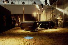 allestimento della collezione Pallucco 1989 / 90 presso l'ex mattatoio di Milano