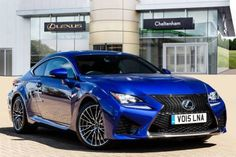 Used 2015 (15 reg) Blue Metallic Lexus RC 500 5.0 2dr Auto for sale on RAC Cars