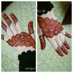 Love the color - mehandi