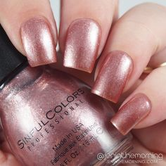 Sinful Colors – Valentine 2016 Picks - Gold N' Roses