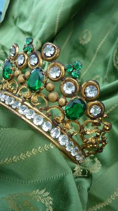 This may be an Antique French tiara, but in my heart I know it was made for a Celtic Princess