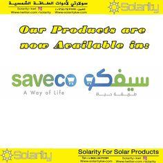 منتجات شركة سولارتي اصبحت متوفرة الان في سيفكو !! زوروا قسم الالكترونيات في فرع سيفكو في الري  قطعة   مبنى  - على الدائري الرابع  Solarity Products are now available in @saveco !! Visit the electronics section in Saveco in Alrai Area  Block 1  building 18  4th Ring Road  #kuwait #kwt #q8 #kw  #الكويت#كويت #solarity #solar #enviroment #greenery #greenenergy #environmentallyfriendly #electrical #electronic #power  #energy #engineering  #enviromental #solarenergy #solarproducts #saveco…