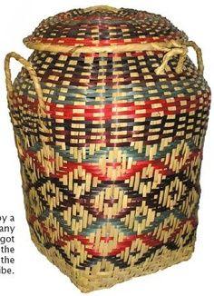 Choctaw Symbol for Strength | Choctaw basket