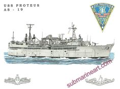 USS Proteus (AS 19)