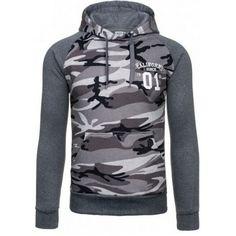 Pánske mikiny - maskáčová Hoodies, Sweatshirts, Camouflage, Hip Hop, Plus Size, Pullover, Casual, Sweaters, Jackets