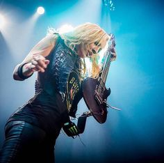 Nita Strauss by Matt Bishop.