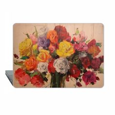USD 49.50 Roses Macbook Pro 13 Case MacBook 15 Case floral by ModMacCase