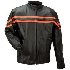 Rocky Mountain Hides™ Genuine Buffalo Leather Jacket