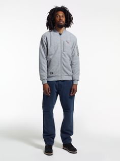 Model is wearing: Polar MA1 Jacket, Carpenter Pant #stussy #mensfashion #holiday12