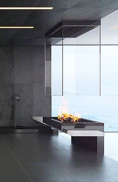 BLOCH DESIGN custom-made contemporary fireplaces