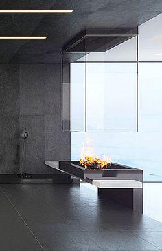 BLOCH DESIGN custom-made contemporary fireplaces